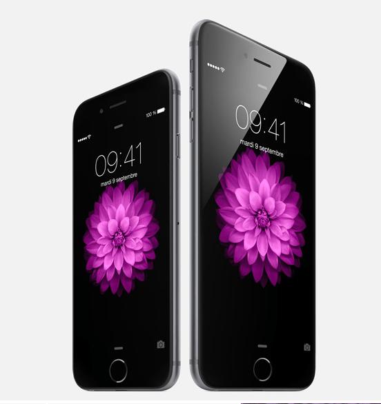 iPhone 6 et 6plus
