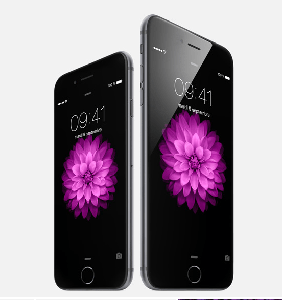 iPhone 6 et 6plus